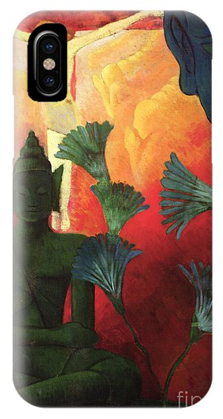 Crucifixion iPhone Case - Christ And Buddha by Paul Ranson