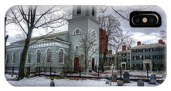 Christ Church In Cambridge IPhone Case