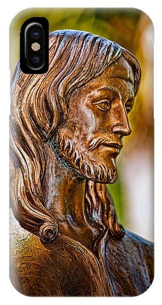 Christ In Bronze IPhone Case