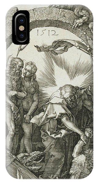 Albrecht Durer iPhone Case - Christ In Limbo by Albrecht Durer