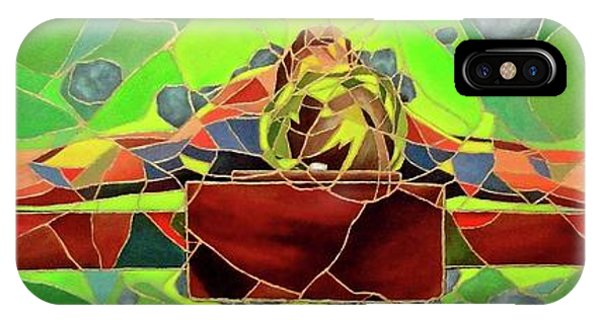 Christ In Stained Glass IPhone Case