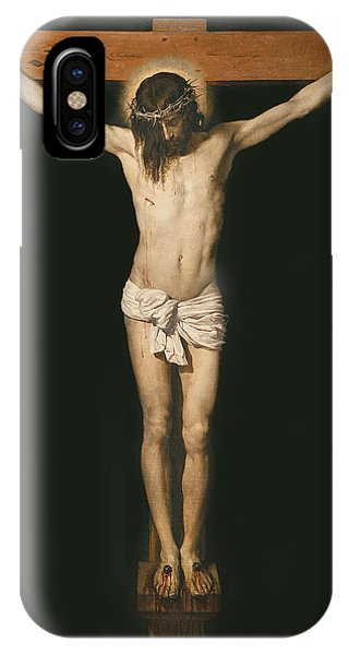 Life Of Christ iPhone Case - Christ On The Cross by Diego Velasquez