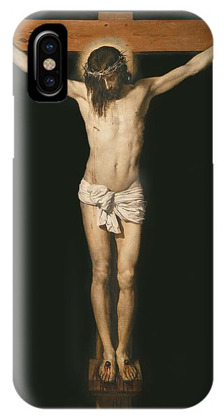 Messiah iPhone Case - Christ On The Cross by Diego Velasquez