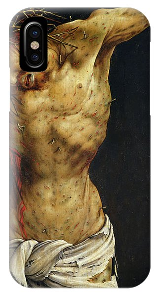 Life Of Christ iPhone Case - Christ On The Cross by Matthias Grunewald