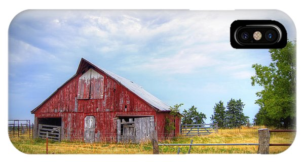 Cricket iPhone Case - Christian School Road Barn by Cricket Hackmann