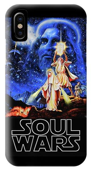 Christian Star Wars Parody - Soul Wars IPhone Case