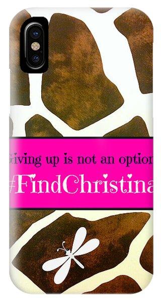 Christina Morris 001 IPhone Case