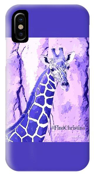 Christina's Giraffe IPhone Case