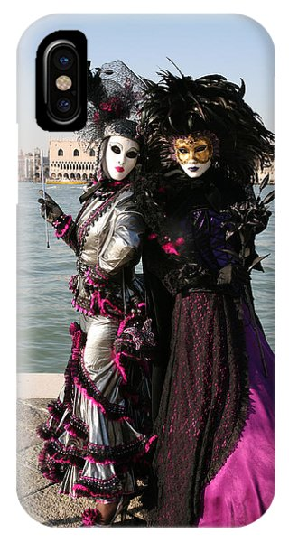 Christine And Gunilla Across St. Mark's  IPhone Case