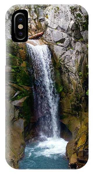 Christine Falls Mt Rainier IPhone Case