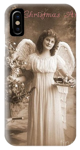 IPhone Case featuring the photograph Christmas Angel by Beauty For God