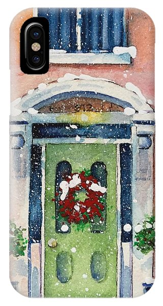 Christmas At The Rectory IPhone Case