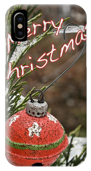 Christmas Bell Ornament IPhone Case