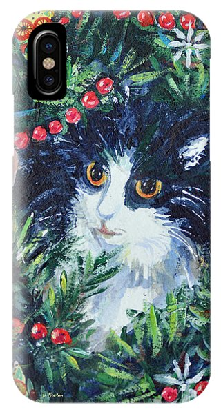 Christmas Catouflage IPhone Case