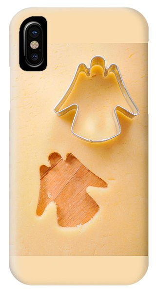 Christmas Cookie Angel Shape IPhone Case