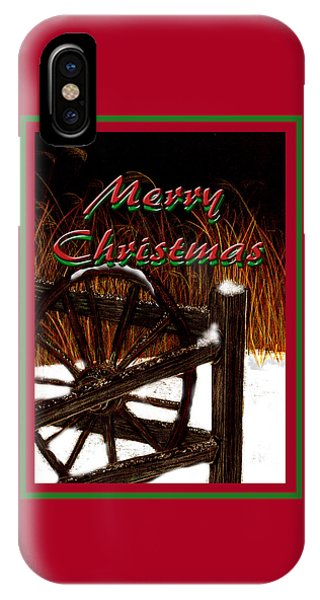 iPhone Case - Christmas Country by Michelle Audas