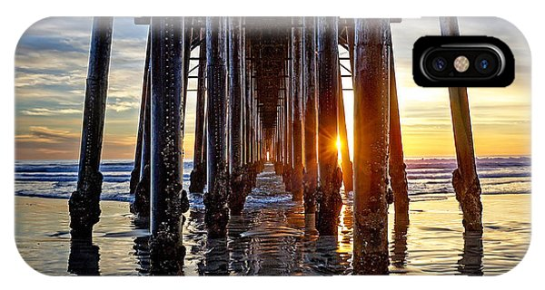 iPhone Case - Christmas Eve At The Pier by Ann Patterson