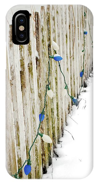 Christmas Fence IPhone Case