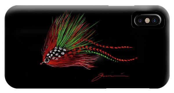 Christmas Fly IPhone Case