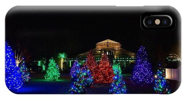 Christmas Garden 7 IPhone Case