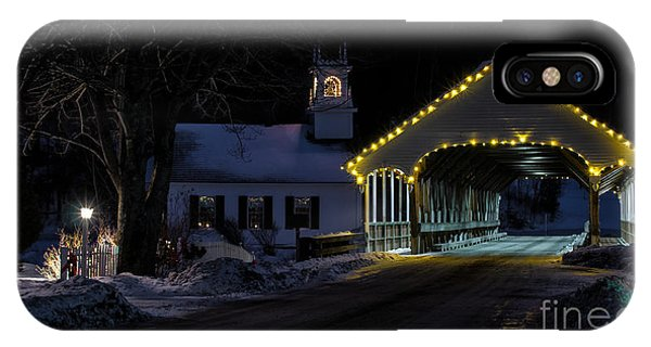 Christmas In Stark New Hampshire IPhone Case