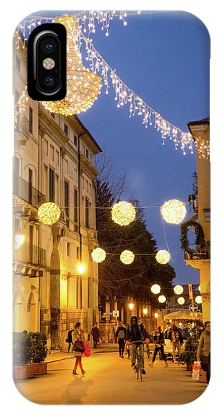 Christmas In Vicenza Italy IPhone Case