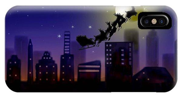 Christmas Landscape IIi IPhone Case