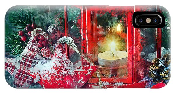 Christmas Lantern IPhone Case