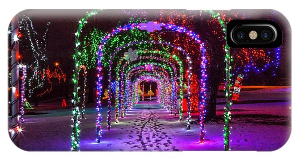 Christmas Light Arches IPhone Case