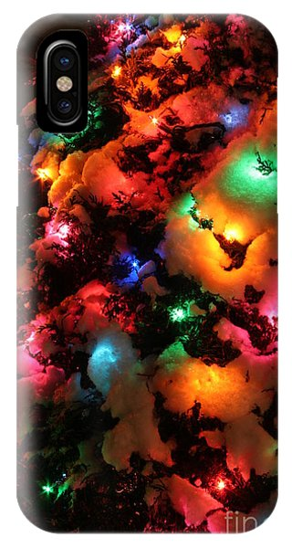 Coldplay iPhone Case - Christmas Lights Coldplay by Wayne Moran