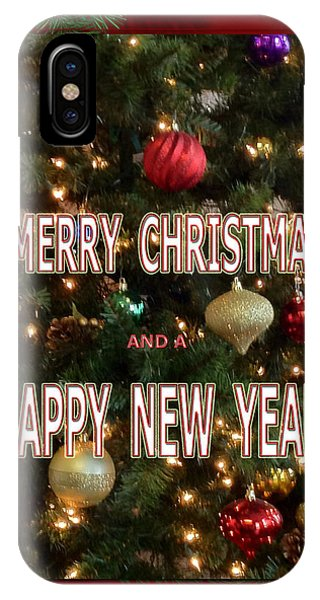 Christmas New Year Card IPhone Case