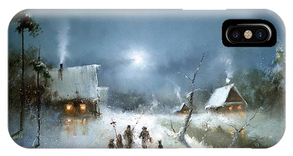 Christmas Night IPhone Case