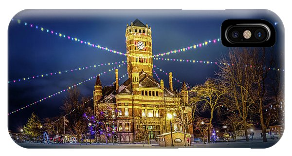Christmas On The Square 2 IPhone Case