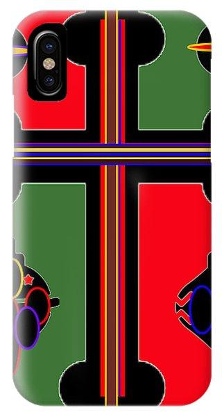 Christmas Ornate 1 IPhone Case