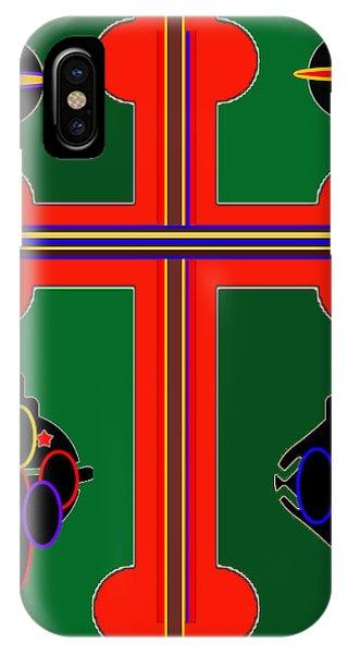 Christmas Ornate 3 IPhone Case
