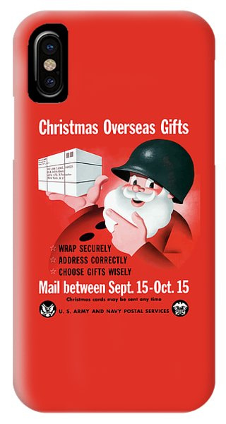 Santa Claus iPhone Case - Christmas Overseas Gifts -- Ww2 by War Is Hell Store