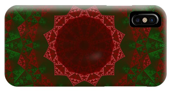 Christmas Quilt IPhone Case