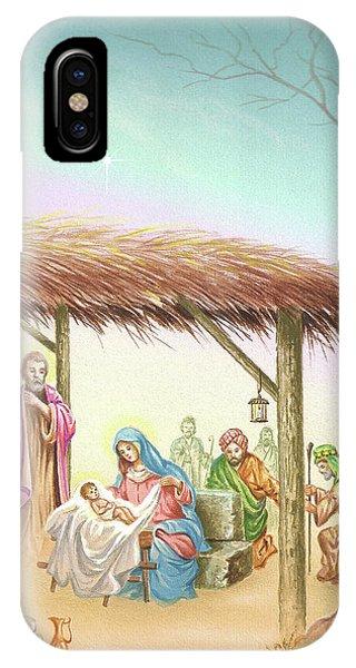 Christmas Scene 1 IPhone Case