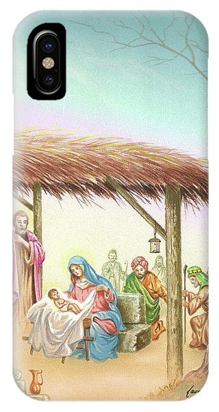 Christmas Scene 1 IPhone Case