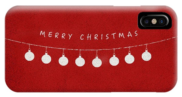Christmas iPhone Case - Christmas Series Christmas Decor by Kathleen Wong