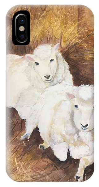Christmas Sheep IPhone Case