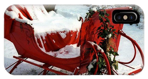 Christmas Sleigh IPhone Case