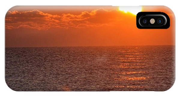 Christmas Sunrise On The Atlantic Ocean IPhone Case