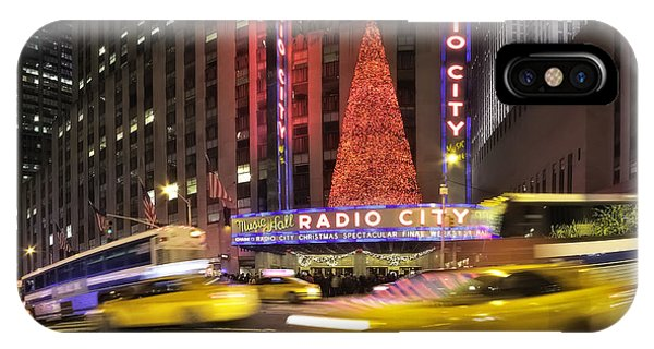 Rockettes iPhone Case - Christmas Times In Nyc by Eduard Moldoveanu