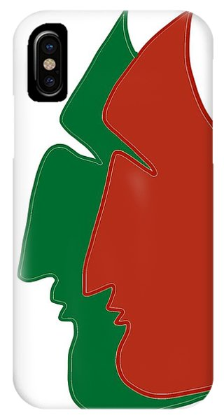 Christmas Together IPhone Case
