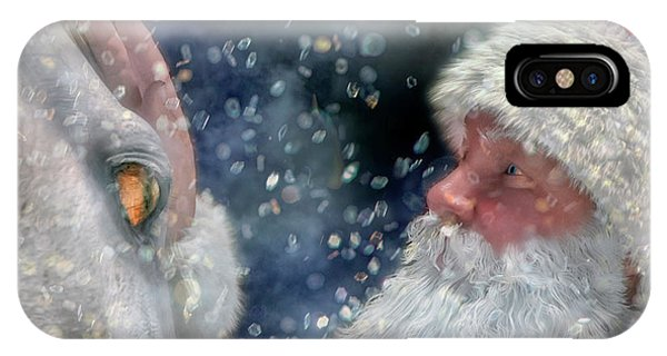 Winter Fun iPhone Case - Christmas Touch by Betsy Knapp