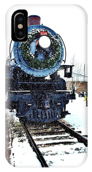Christmas Train IPhone Case