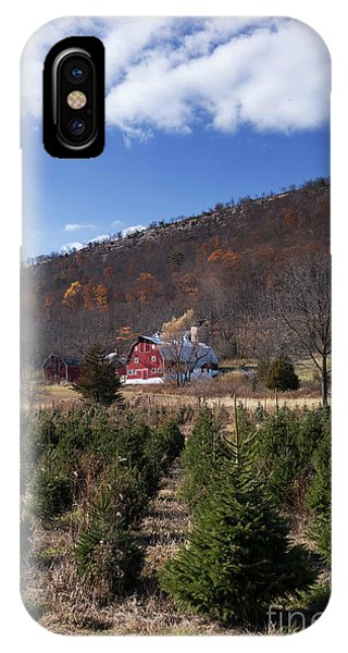 Christmas Tree Shopping IPhone Case