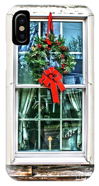 Christmas Window IPhone Case