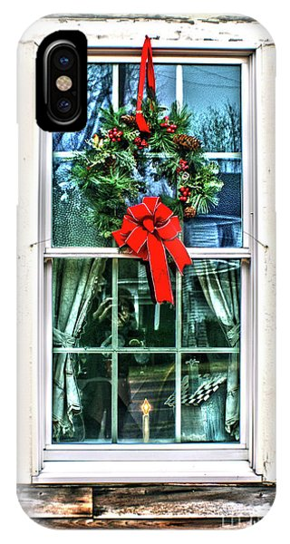 Christmas Window IPhone Case